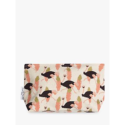 Fenella Smith Ostrich Make-up Bag, Small