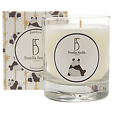Buy Fenella Smith Panda Bamboo Scented Candle Online at johnlewis.com