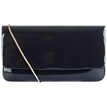 Buy Hobbs Frances Patent Clutch Bag Online at johnlewis.com