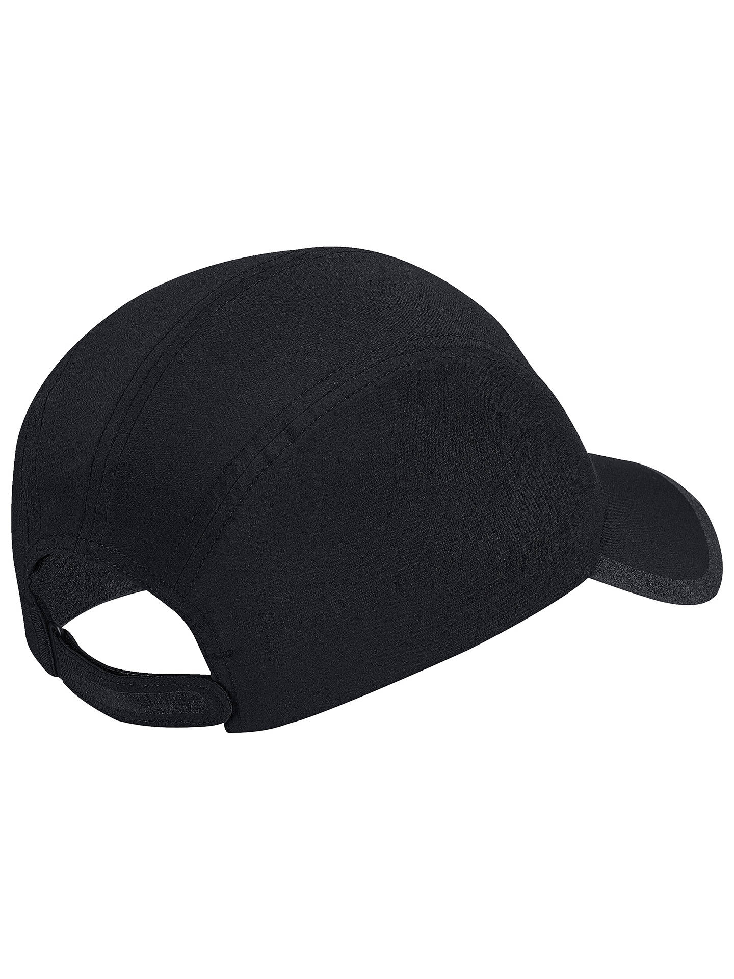 Buyadidas Climalite Running Cap, One Size, Black/Reflective Silver Online at johnlewis.com