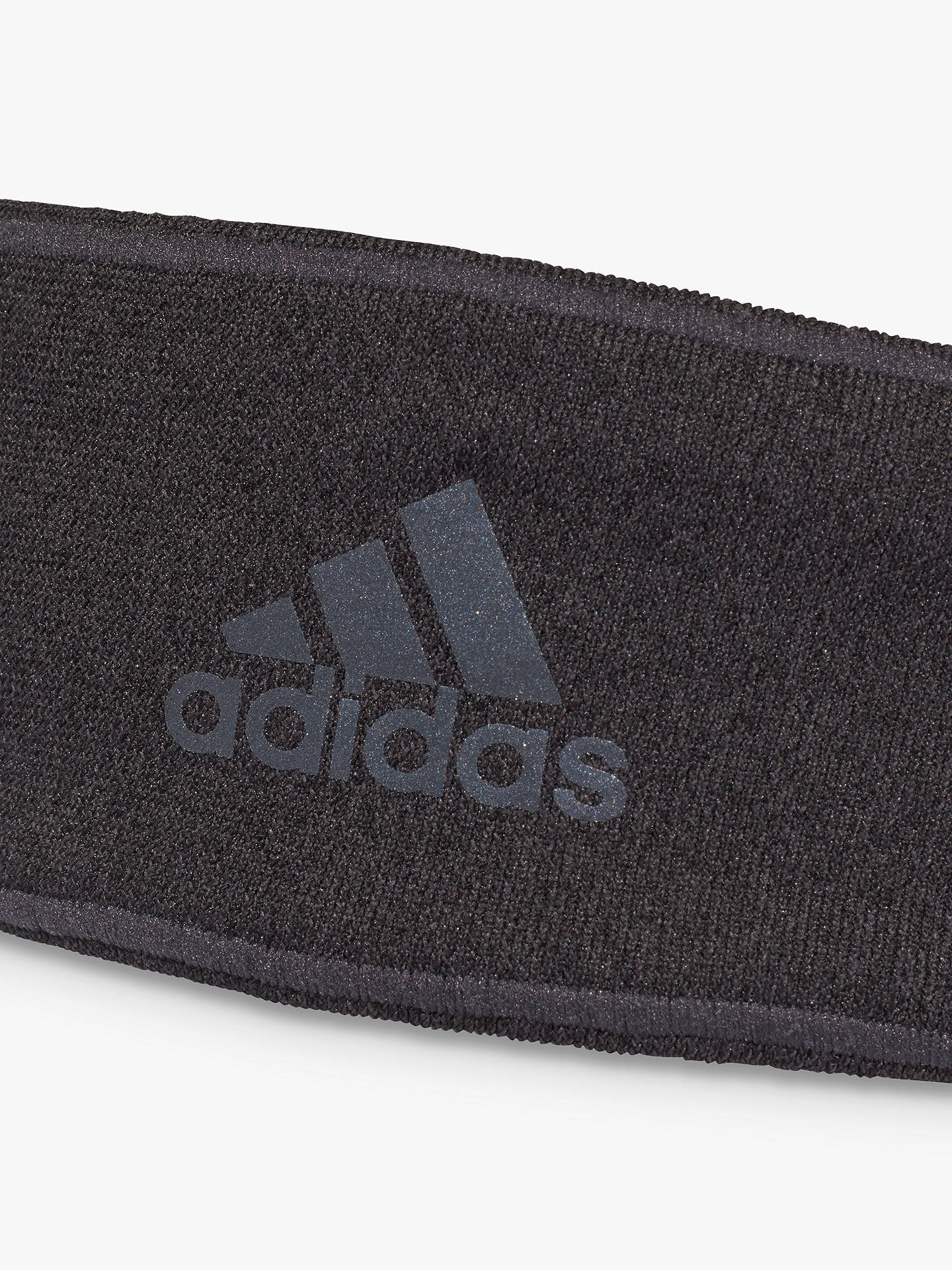Buyadidas Climaheat Running Headband, Carbon Online at johnlewis.com