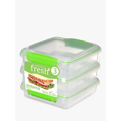 Sistema Fresh Polypropylene Sandwich Boxes Review