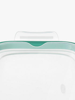 Buy OXO Good Grips SNAP Glass Storage Container, Clear, 800ml Online at johnlewis.com