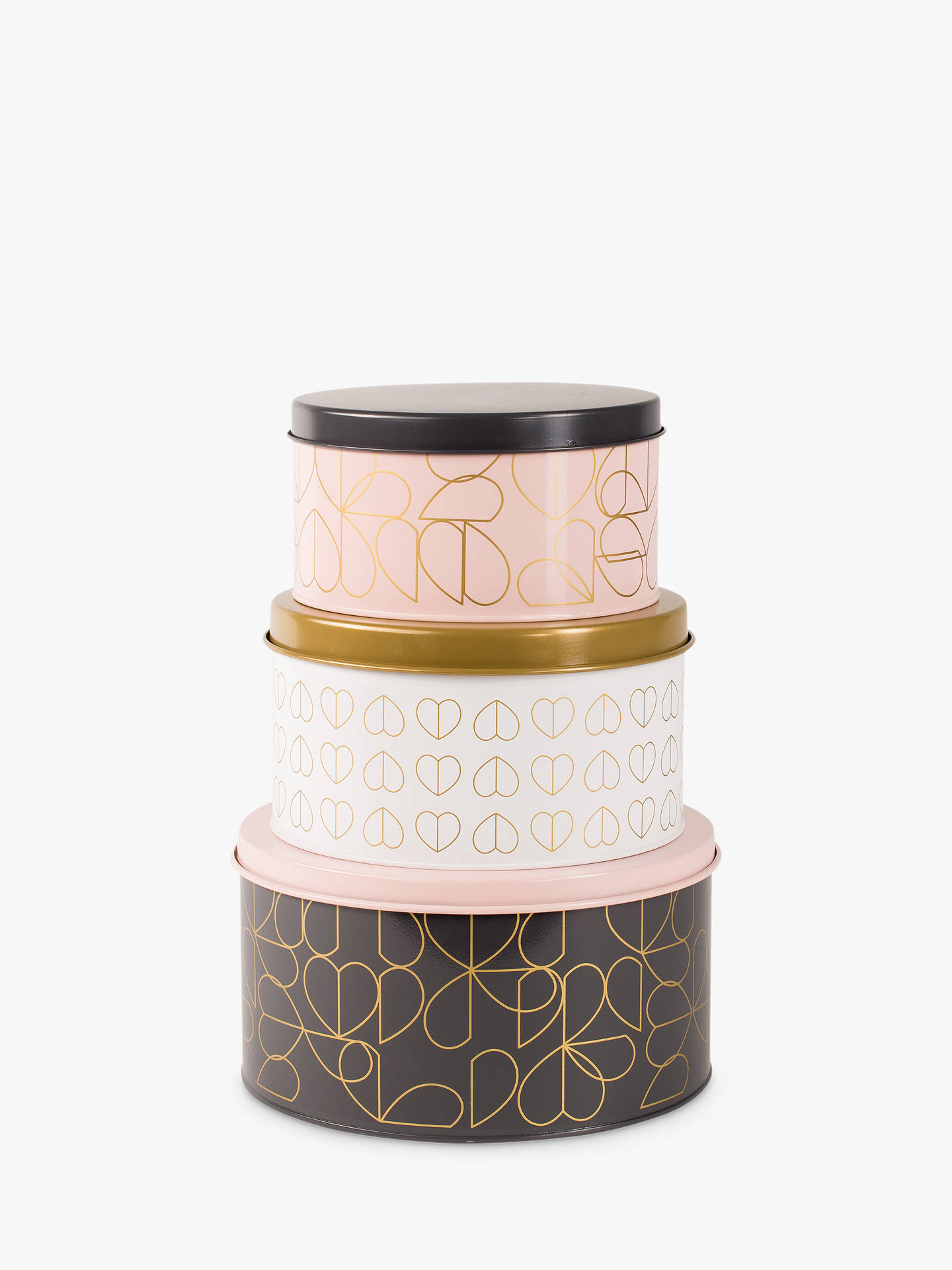 BuyBeau & Elliot Champagne Edit Nesting Cake Tins, Assorted, Set of 3 Online at johnlewis.com