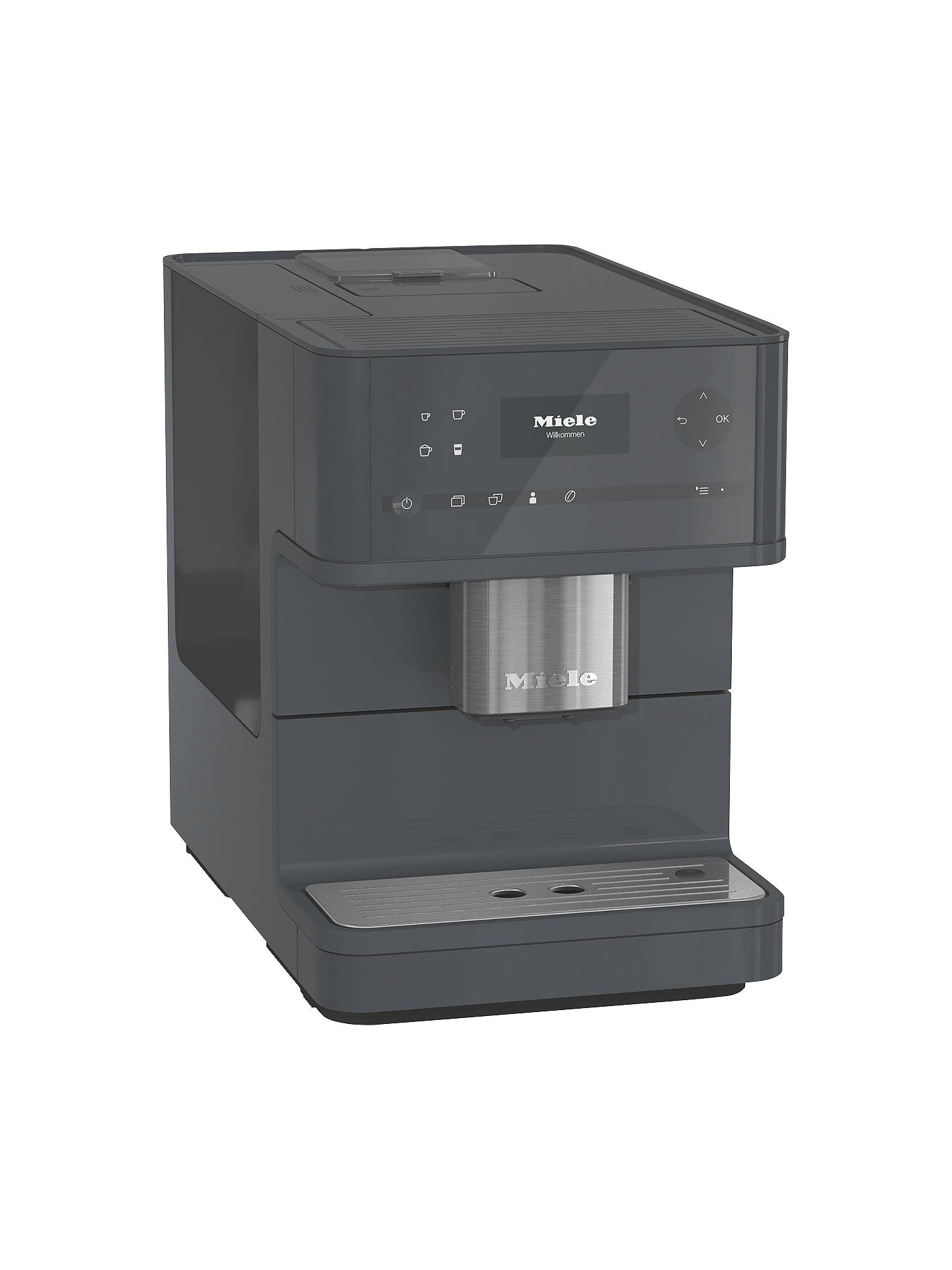 Miele Cm6150 Bean To Cup Coffee Machine Grey