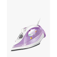 Buy Philips GC3803/30 Azur Performer Steam Iron, White/Purple Online at johnlewis.com