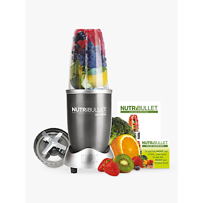 Nutribullet 600 Series Starter Kit, Grey