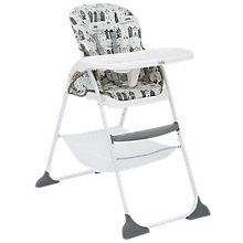 Buy Joie Baby Mimzy Snacker Highchair, Petite City Online at johnlewis.com