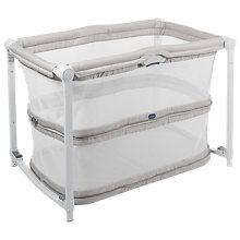 Buy Chicco Zip & Go Travel Crib, Grey Online at johnlewis.com