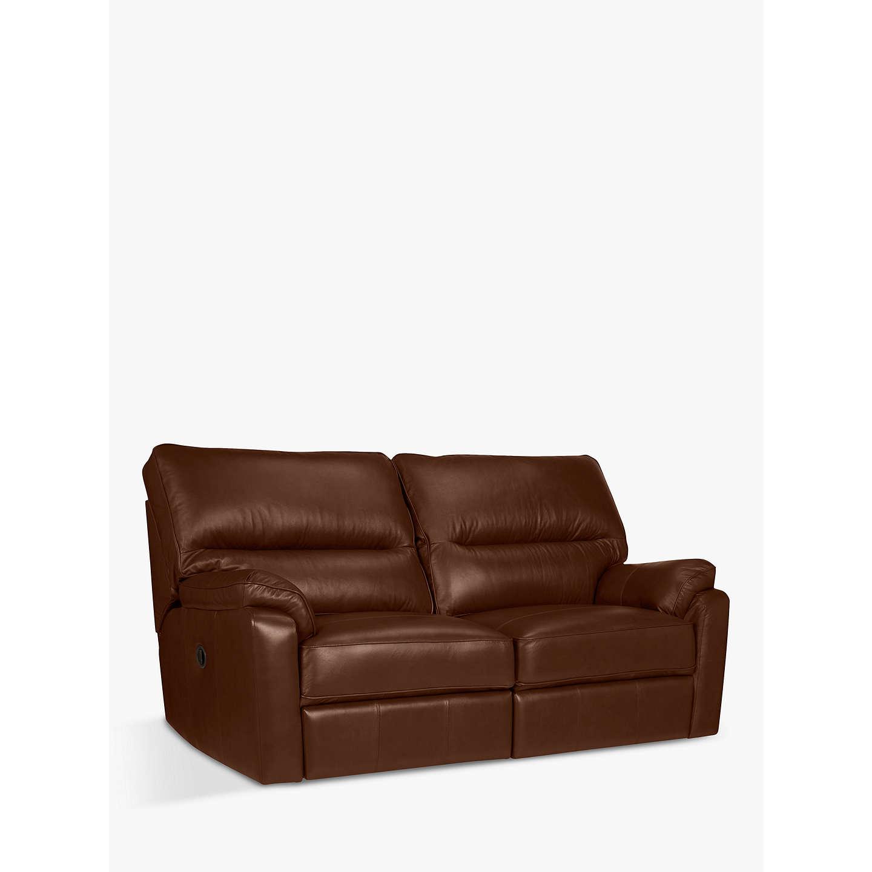 Buyjohn Lewis Carlisle Power Recliner Medium 2 Seater Leather Sofa,