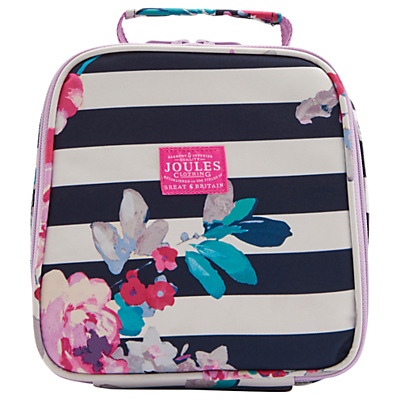 Joules Margate Floral Lunchbox, Blue/Multi