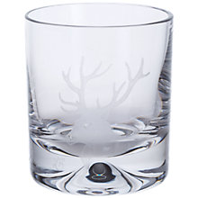 Buy Dartington Crystal Sporting Life Stag Tumbler, Clear Online at johnlewis.com