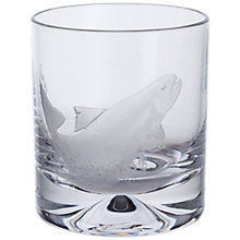 Buy Dartington Crystal Sporting Life Salmon Tumbler, Clear Online at johnlewis.com