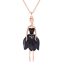 Buy Ted Baker Tuula Swarovski Crystal Ballerina Pendant Necklace Online at johnlewis.com