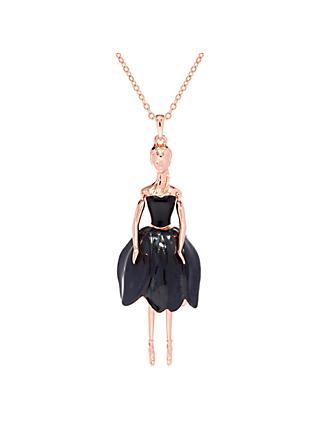7a17e2228a59b Ted Baker Tuula Swarovski Crystal Ballerina Pendant Necklace