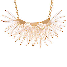 Buy Ted Baker Florenz Flare Burst Necklace Online at johnlewis.com