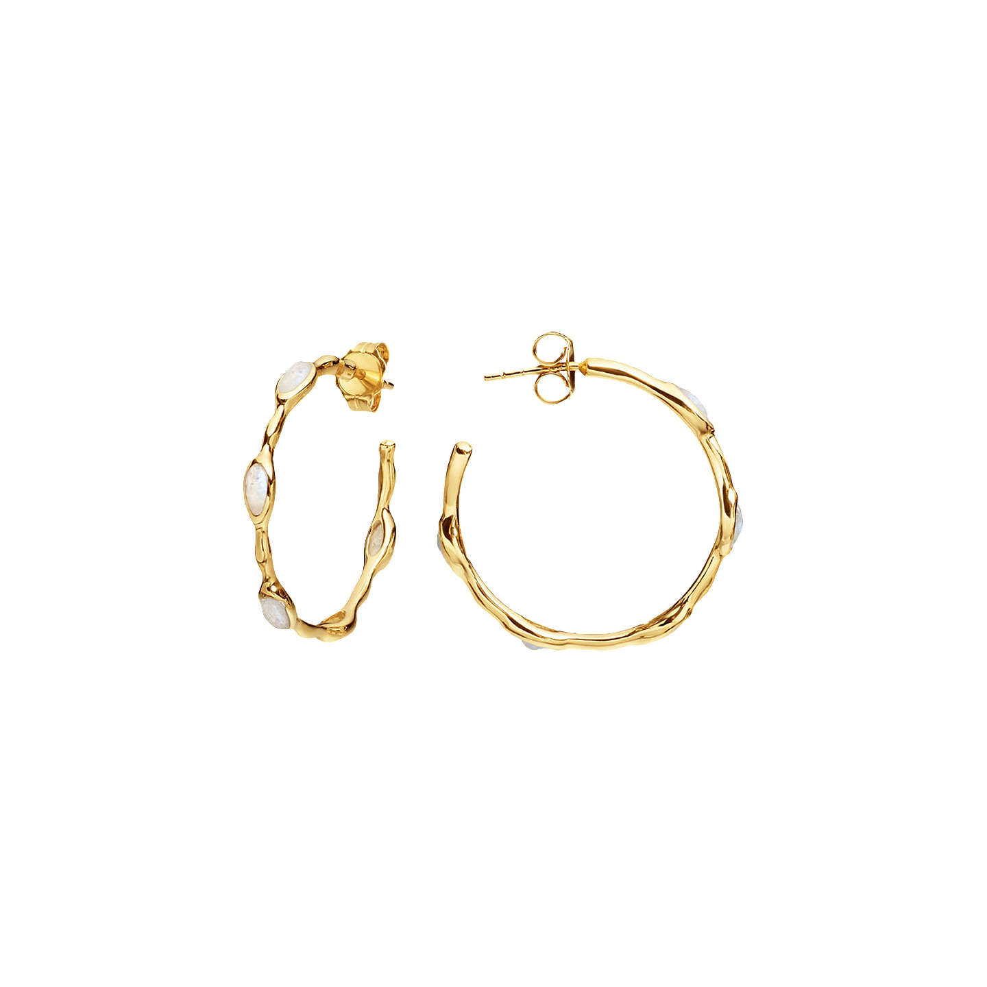 hoop yellow en online twist gold jewellery earrings