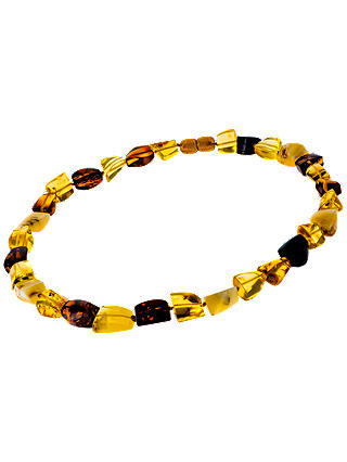 Buy Be-Jewelled Amber Necklace, Lemon/Cherry Online at johnlewis.com