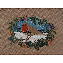 Buy Nicola Jarvis Christmas Robin Crewel Work Embroidery Kit Online at johnlewis.com