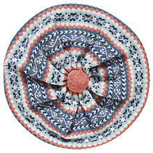 Buy Brora Cashmere Fair Isle Beret, Multi Online at johnlewis.com