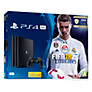 Buy Sony PlayStation 4 Pro Console, 1TB, with DUALSHOCK 4 Controller and FIFA 18, Jet Black Online at johnlewis.com