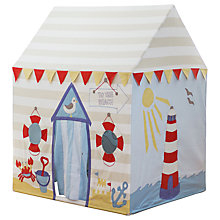 Buy Kiddiewinkles Personalised Children's Beach Hut Playhouse, Large Online at johnlewis.com