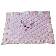 Buy Kiddiewinkles Children's Fairy Woodland Playspace Floor Quilt, Medium Online at johnlewis.com