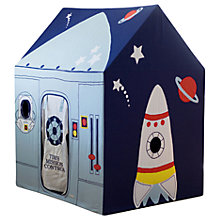 Buy Kiddiewinkles Personalised Children's Outer Space & Rocket Playhouse, Large Online at johnlewis.com