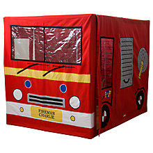 Buy Kiddiewinkles Personalised Children's Fire Engine Play Tent Online at johnlewis.com