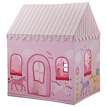 Buy Kiddiewinkles Personalised Children's Princes'/Princess' & Unicorn Castle Playhouse, Large Online at johnlewis.com