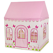 Buy Kiddiewinkles Personalised Children's Rose Cottage & Tea Shop Playhouse, Medium Online at johnlewis.com