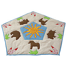 Buy Kiddiewinkles Children's Wild West Playspace Quilt Online at johnlewis.com