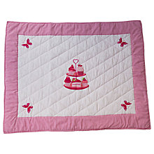 Buy Kiddiewinkles Children's Tea Party Play Space Quilt, Medium Online at johnlewis.com
