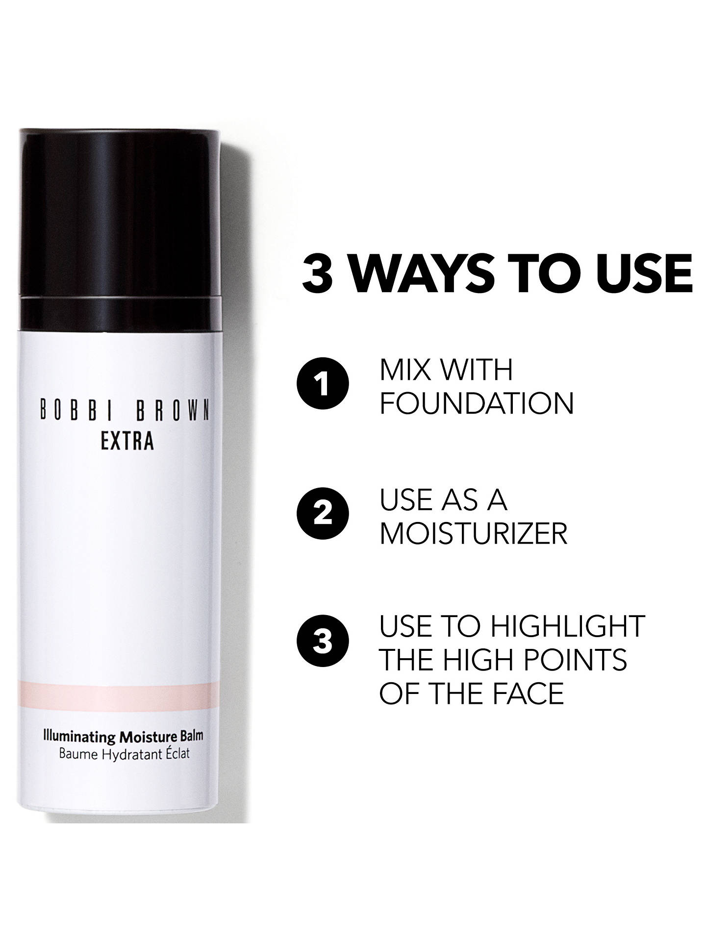 Buy Bobbi Brown Extra Illuminating Balm, Bare Glow Online at johnlewis.com