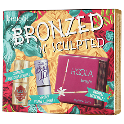 Benefit Bronzed 'N' Sculpted Makeup Gift Set Review