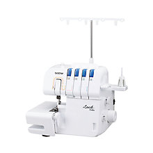 Buy Brother 734DS Overlocker Machine, White Online at johnlewis.com