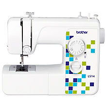 Buy Brother LS14 Sewing Machine, White Online at johnlewis.com