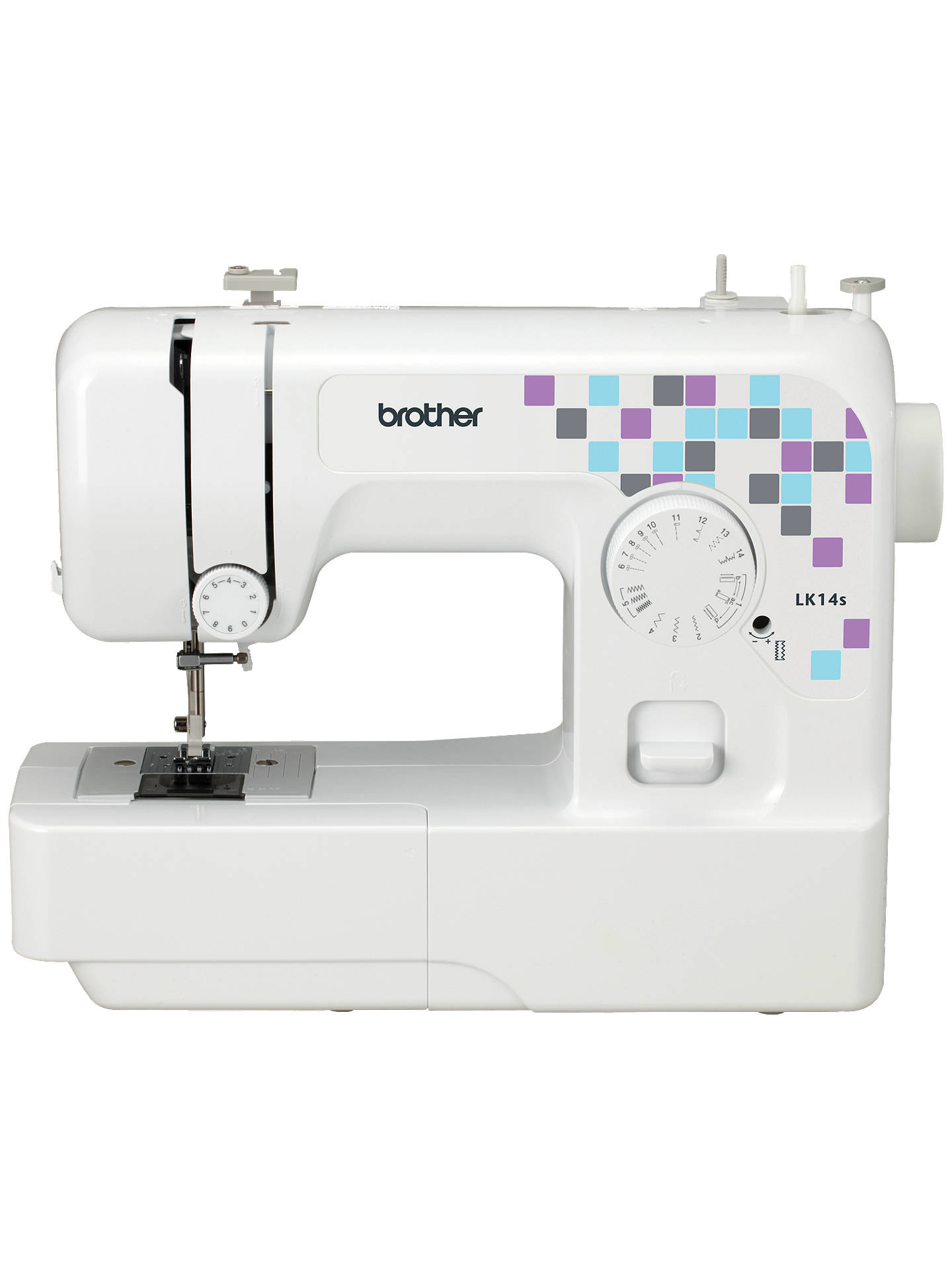 Brother LK14S Sewing Machine, White