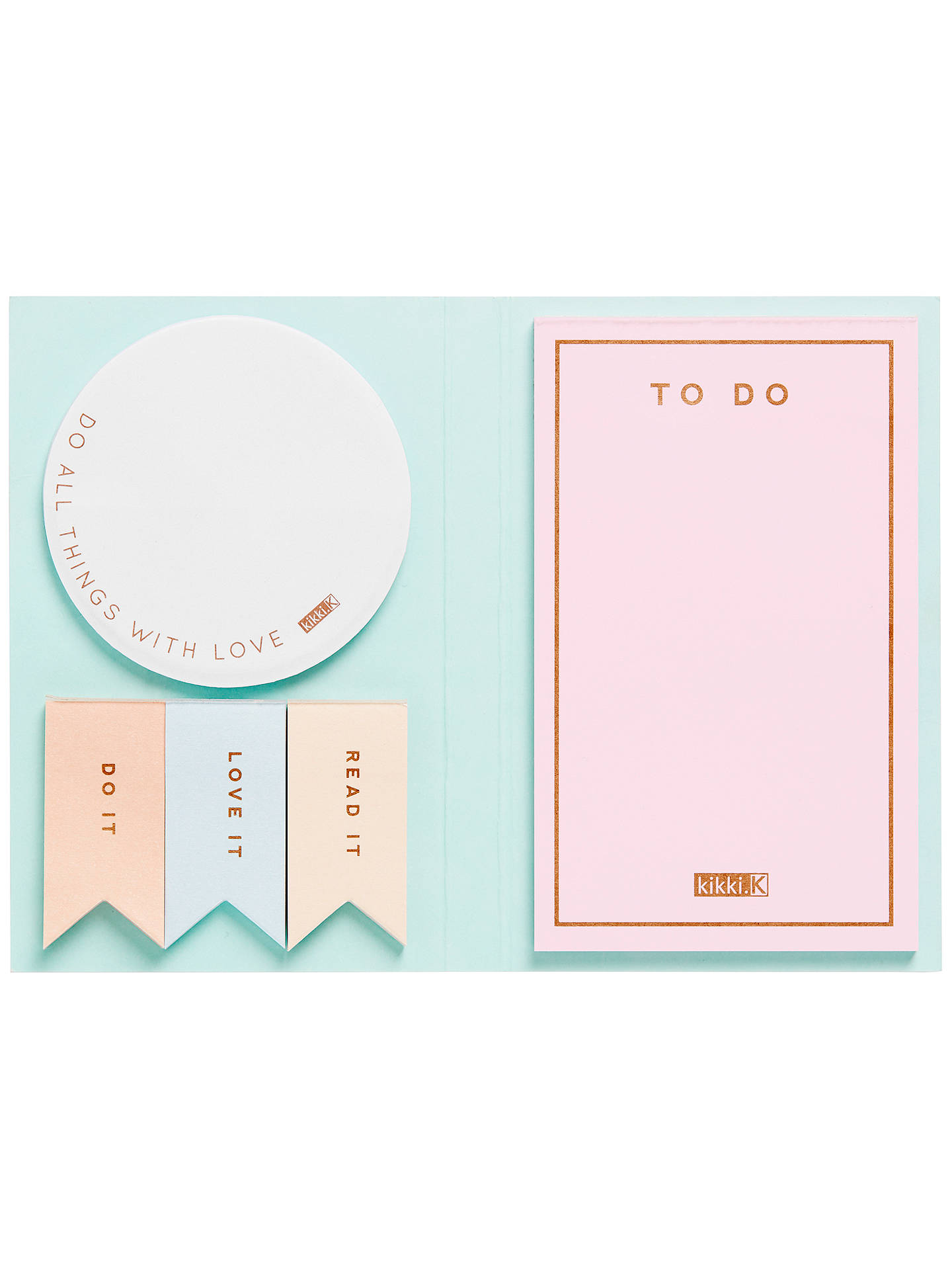 John Lewis NEW. YOU GOT THIS 250 PIECE Post It Sticky Notes Gift Set