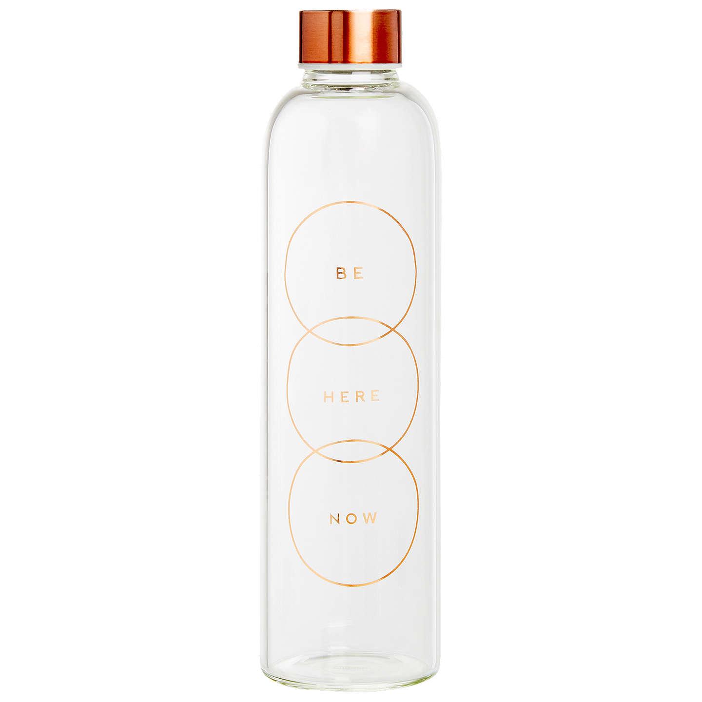 Kikki.K Glass Water Bottle: Energise by Kikki.K