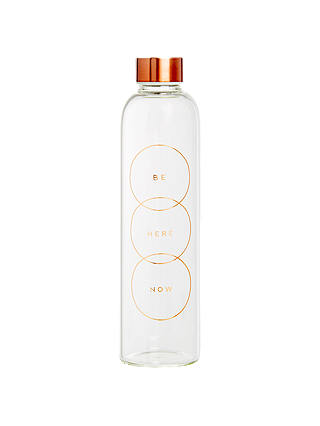 Buy kikki.K Glass Water Bottle: Energise Online at johnlewis.com