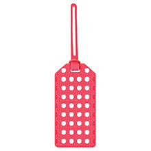 Buy kate spade new york Luggage Tag, Coral Online at johnlewis.com