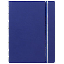 Buy Filofax Classic Notebook A5, Blue Online at johnlewis.com