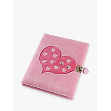 Buy Tinc Mallo Lockable Journal, Pink Online at johnlewis.com