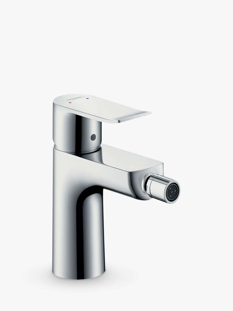 Hansgrohe Hansgrohe Metris Single Lever Bathroom Bidet Mixer Tap with Pop-Up Waste, Chrome