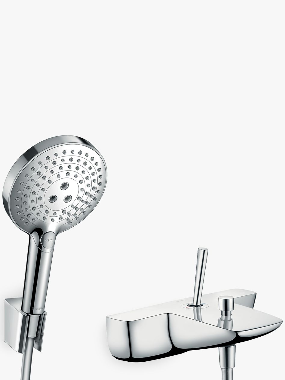 Hansgrohe Hansgrohe PuraVida Single Lever Bathroom Mixer Tap with Shower Head, Chrome