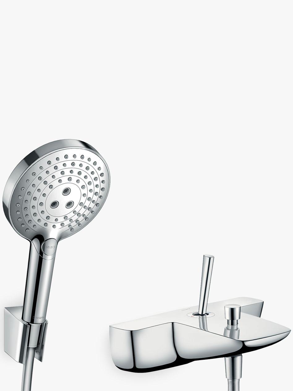 Hansgrohe Puravida Single Lever Bathroom Mixer Tap With Shower Head Chrome