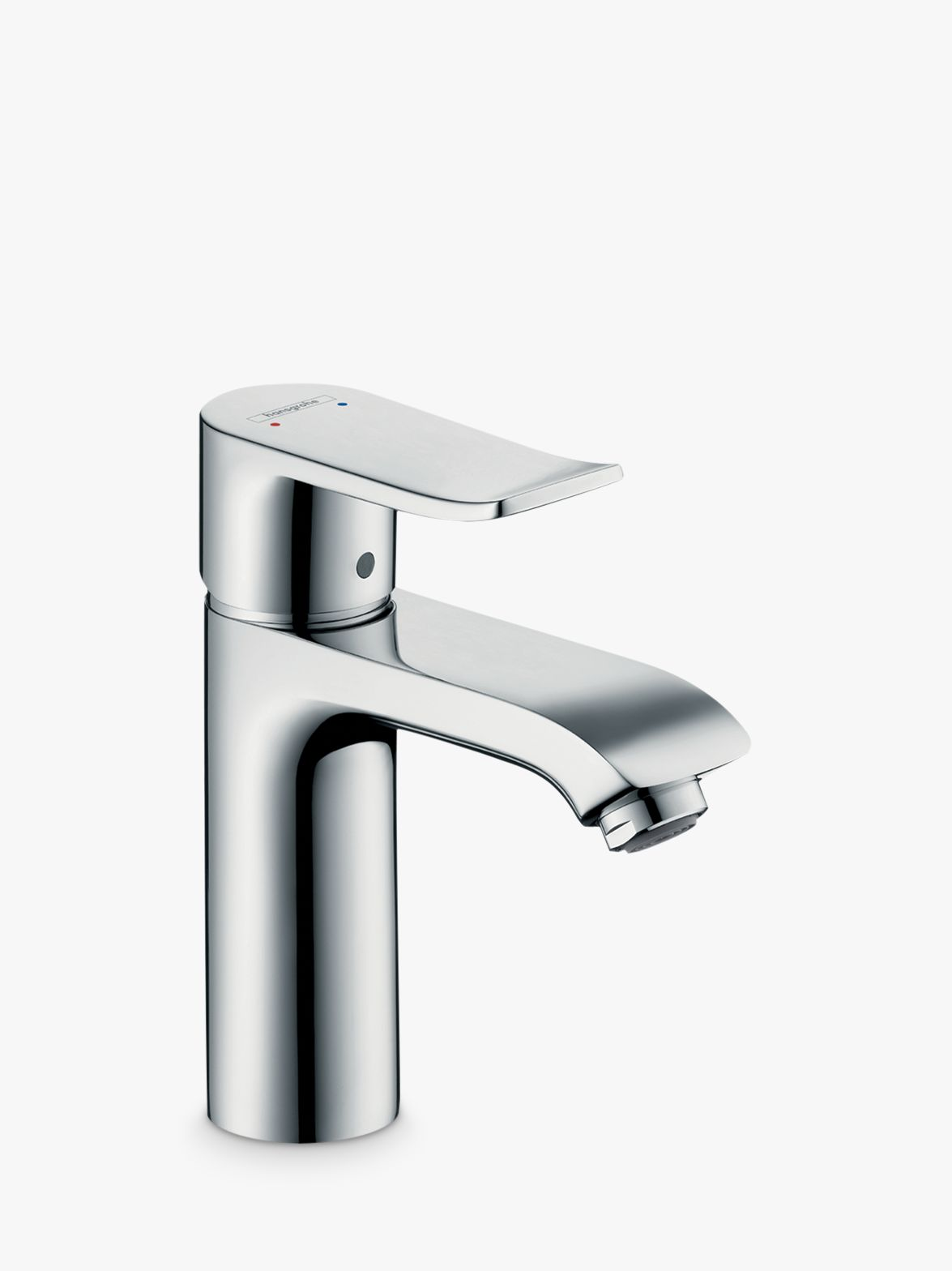 Hansgrohe Hansgrohe Metris 110 Single Lever Bathroom Basin Mixer Tap, Chrome