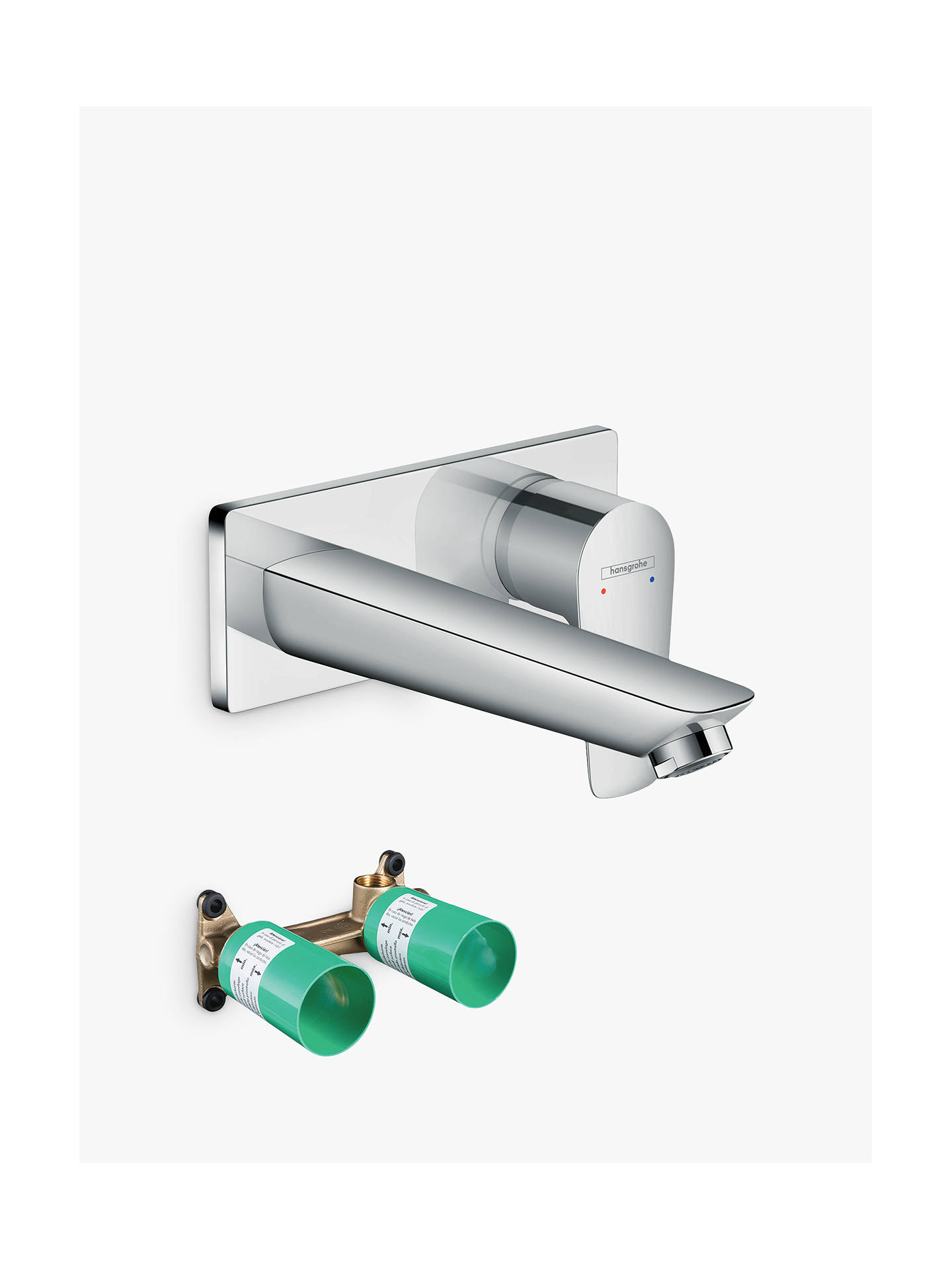 Hansgrohe Talis E Single Lever Concealed Installation Bath/Shower ...