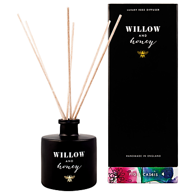 Willow and Honey Fig and Cassis Diffuser, Black, 200ml
